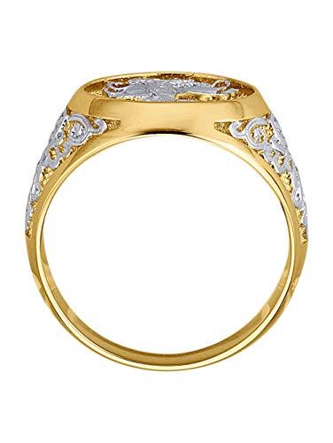 Diemer Gold Herren Ring in Multicolormit in und in und in in Gelbgold 585