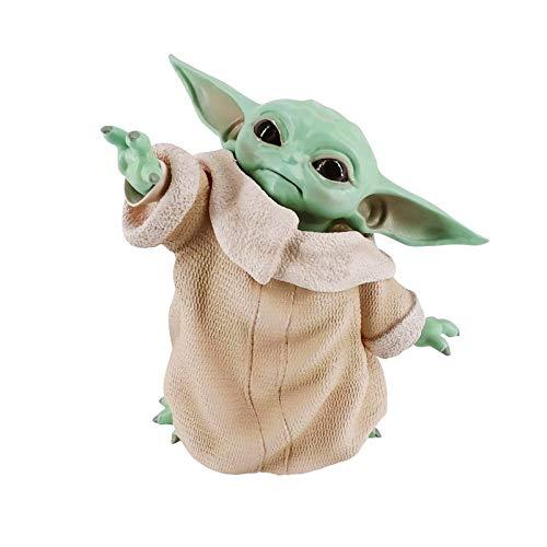 HAGENGOO Star Wars The Child Animatronic Edition Mandalorian Baby Yoda Action Figure Toys Hot Kids Toys Xmas Gifts Collectible 8CM