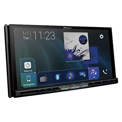 Pioneer AVH-Z9250BT Autoestereo DVD 7', Pantalla Tactil, Bluetooth, WiFi, USB, SD-Set of