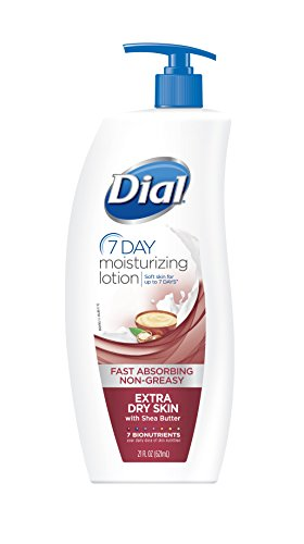 Dial 1715057 NutriSkin Replenishing Hand and Body Lotion, Extra Dry, 21oz Bottle (Pack of 6)