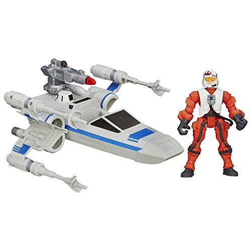 Star Wars Hero Stampfern Episode VII Widerstand X-Wing und Widerstand Pilot