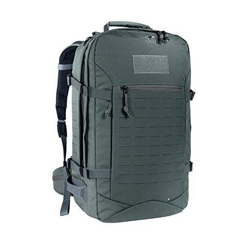 Tasmanian Tiger TT Rucksack Mission Pack MK II Molle-Kompatibler Outdoor Backpacker-Rucksack mit vielen Fächern 37L Volumen, Carbon