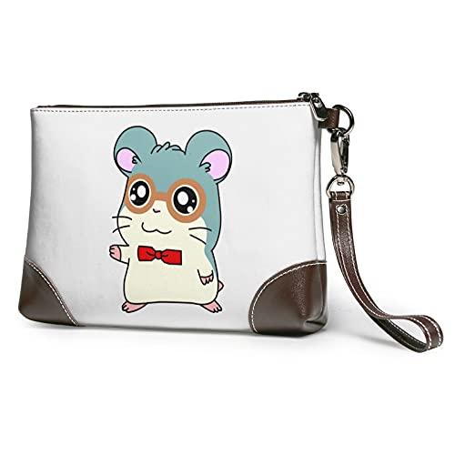 MGBWAPS Bow Mouse Clutch, Leder Clutch Geldbörse, Kosmetiktasche, Clutch Handtasche, (siehe abbildung), Einheitsgröße