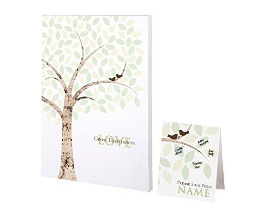 Lillian Rose GA550 WT Alternative Signing Tree Canvas, Multicolor