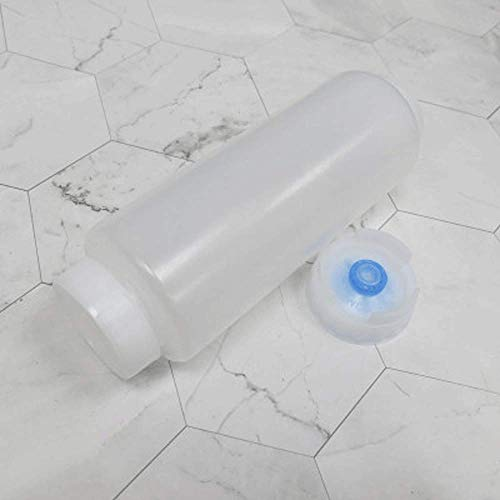 QAWS Flasche Gewürzspender Condiment Ketchup Quetschflasche Kappe Drücken Sie Sauce Flasche Tomatensalat Auslaufsicherer Sauce Eimer 470Ml