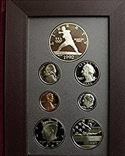 1992 S U.S. Mint Prestige Set Cameo Proof