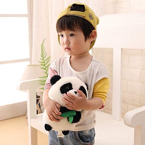 Kleine Panda Doll Plush Toy Leuk Super Leuk Weinig Panda Giant Panda Doll Kleine Gift Girl 30cm,30cm