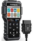 TOPDON AL600 OBD2 Scanner Code Reader with Active Test |ABS&SRS Diagnostics| Car Maintenance Reset Service of Oil, BMS, SAS| Full OBD2 Functions | Lifetime Free Update | LED Lights