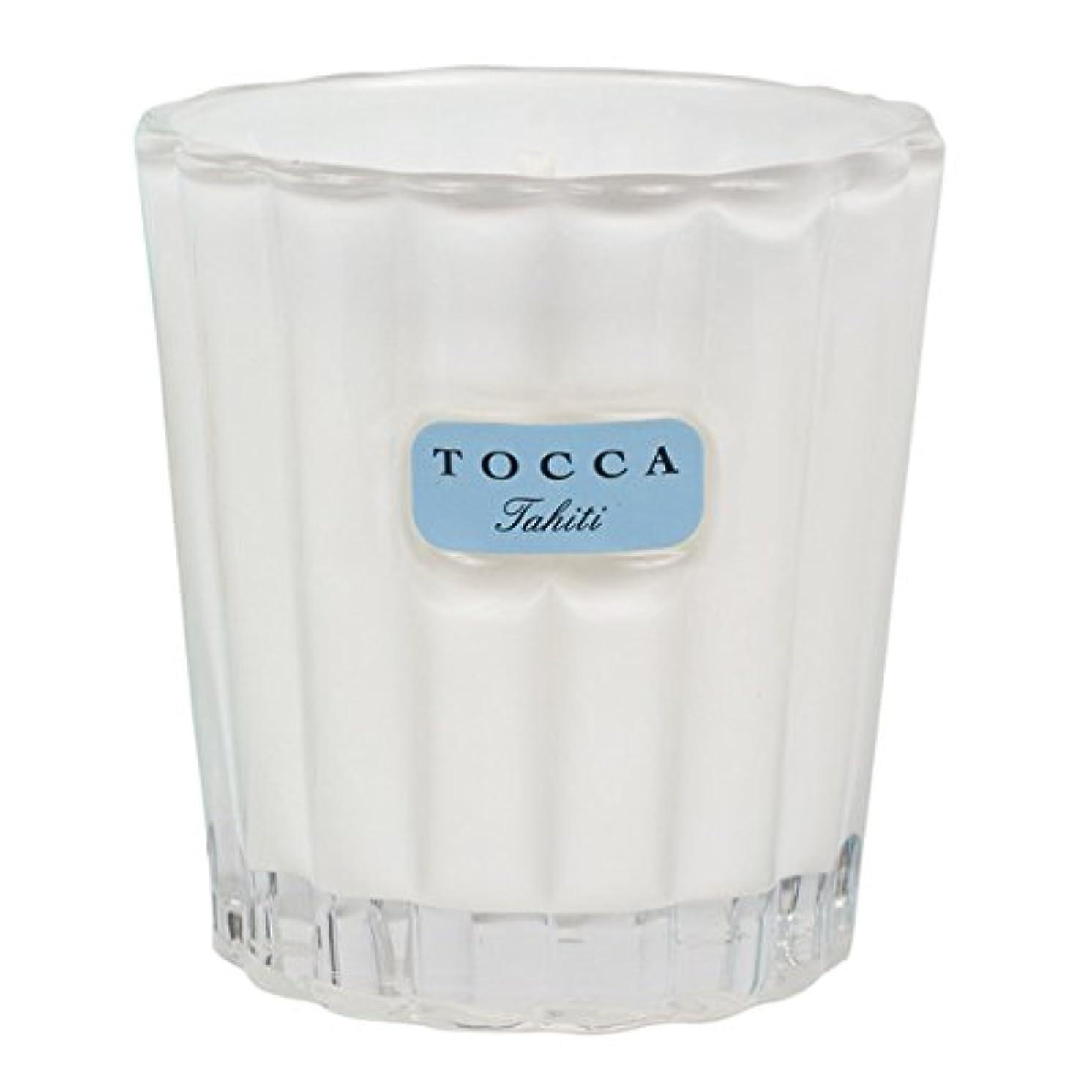 切断する微妙四回【TOCCA(トッカ)】フレグランス キャンドル 88g (タヒチ4340)