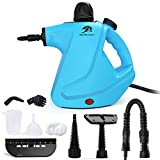MLMLANT Multi-Purpose Handheld Pressurized Steam Cleaner 450ml Water Tank Capacity with 9-Piece Accessory Kit for Multi-Surface Stain Removal, Counters, Carpets, Curtains, Upholstery & More