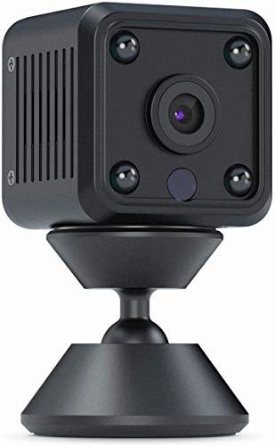 Mini cámara de vigilancia Night Vision IP cámara Live Video Microespía CW711