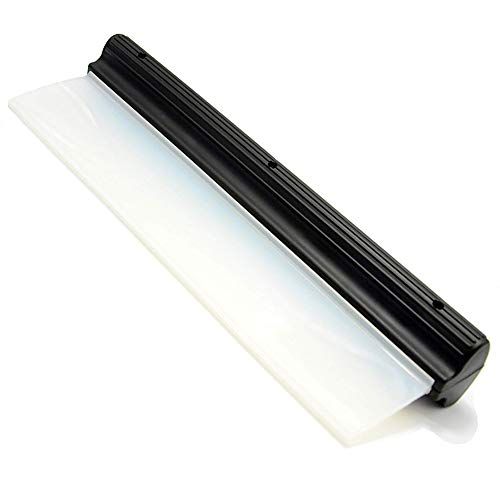 WeTest Professional Automotive Wiper Blade Squeegee Silicone Water Blade,11 Inch Black 2019
