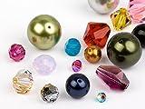 Glasperlen von Swarovski Elements (Multi Form Mix), 48 Stück