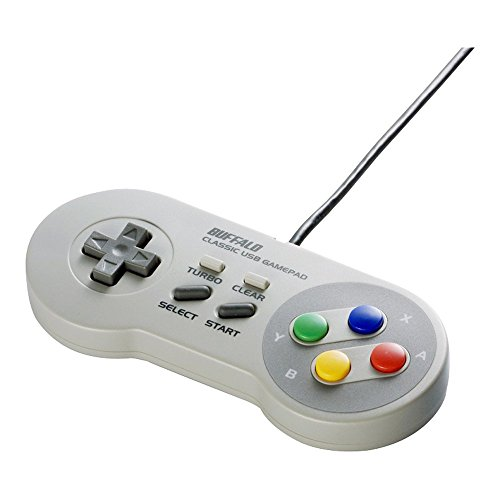 Buffalo Classic USB Gamepad for PC (SNES style)
