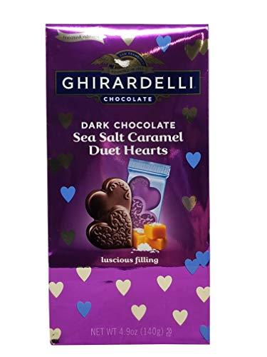image of Ghirardelli Sea Salt Caramel Hearts