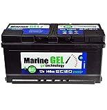 Batteria al gel 140 Ah per barca 12 V non richiede manutenzione