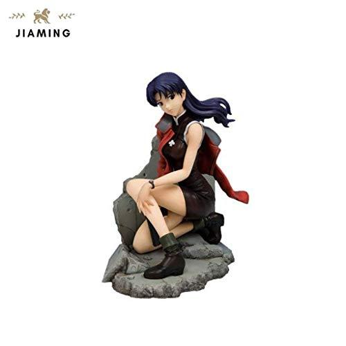 Jiaming Neon Genesis Evangelion: Katsuragi Misato PVC Figura Modelo Regalo 1/6 Escala