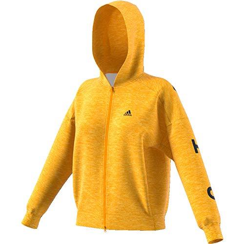 adidas Damen S2S Sweatjacke gelb M