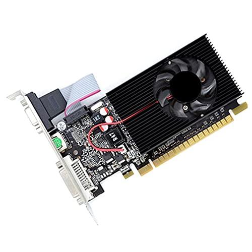 Fayme GT730 2G Grafik Karte 64-Bit D3 Spiel Video Grafikkarte Server Halbhohe Grafik Karte für Geforce Dvi VGA Video Grafikkarte