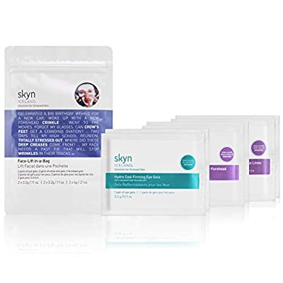 skyn ICELAND Face-Lift in-a-Bag: Essential Masks for Eyes, Forehead & Smile Lines by Skyn Iceland