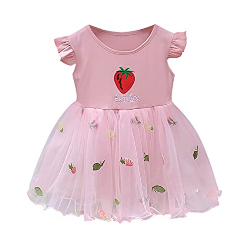 Keepwin Vestido De Princesa para Niña Vestido Bautizo Bebe Niña Ropa Bebe Recien Nacido Verano Vestidos para Ninas para Boda Vestidos Fiesta Niña Vestidos Niña Playa Ceremonia Disfraz Vestir