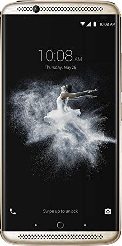 ZTE Axon 7 Smartphone (13,9 cm (5,5 Zoll) Display, 20 Megapixel Kamera, 64 GB Speicher) Gold (Generalüberholt)