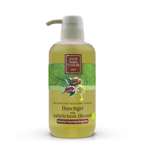 Duschgel mit natürlichem Olivenöl/ Vegan, 600 ml PET-Flasche