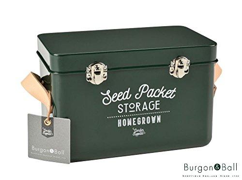 Burgon & Ball, Scatolina per conservare le sementi, in vari colori