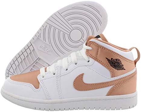 Nike 640737-190 Jordan 1 Mid (PS) Chaussures de maternelle pour ...