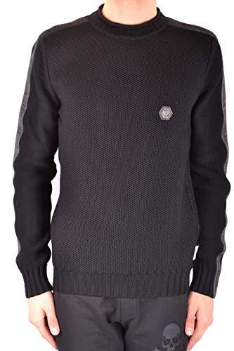 Luxury Fashion | Philipp Plein Heren MKO0415PKN002N02 Zwart Wol Truien | Lente-zomer 20