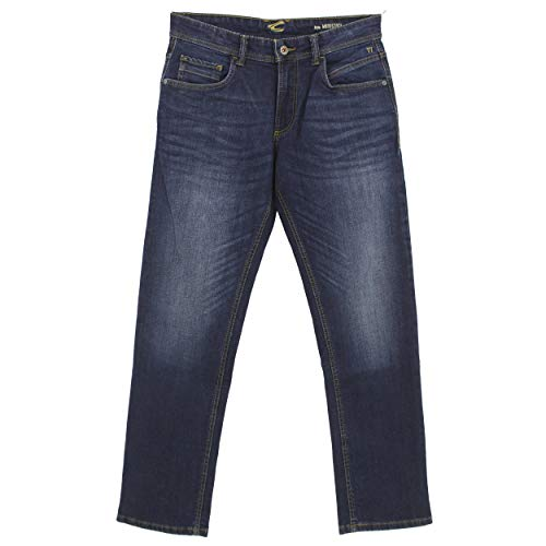 Camel Active, Woodstock, Herren Herren Jeans Hose Stretchdenim Darkblue Used W 36 L 34 [23199]