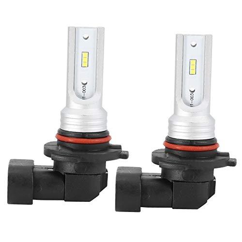 KSTE 2pcs 9005 Granos de la lámpara antiniebla HB3 72W 6000K Blanco Bulbo de la Linterna LED con Decode