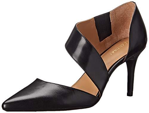 Calvin Klein Women's Gella Dress Pump, Black Leather, 10 M US