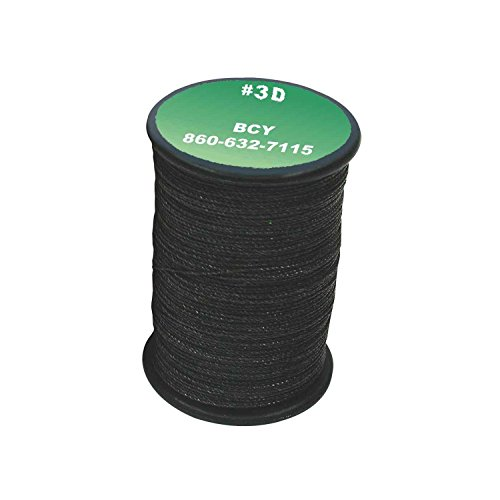 BCY 3D End Serving .016 120yd Black