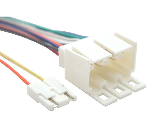 Compatible with Pontiac Fiero 1984-1988 Factory Stereo to Aftermarket Radio Harness Adapter
