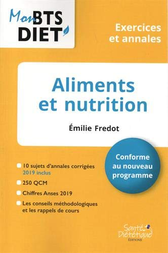 Aliments et nutrition: Exercices et annales