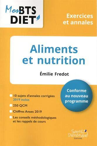 Aliments et nutrition : Exercices et annales