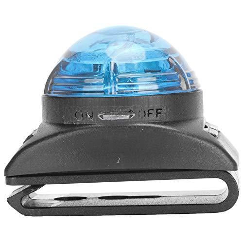 Pssopp Colgante LED para Mascotas, Impermeable, Luminoso, Brillante, lámpara de Advertencia Nocturna, lámpara de Seguridad para Perros, Accesorios Colgantes antipérdida para Perros(Azul)