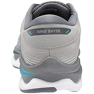 Mizuno Women's Wave Sky 5 Running Shoe, Griffin, 8.5