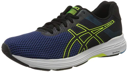 Asics Herren Gel-Phoenix 9 Laufschuhe, Blau (Deep Ocean/Flash Yellow 400), 44.5 EU