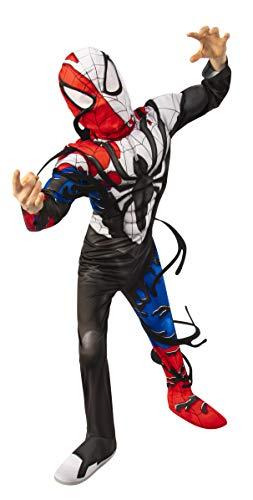 Rubie's Boy's Marvel Spider-Man Maximum Venom Deluxe Venomized Spider-Man Costume, Small