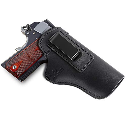 1911 Leather Holster, Inside The Waist Band IWB Holsters,...