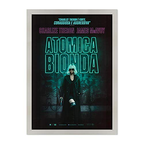 ConKrea Atomica Rubia – Póster Manisfecto original Cinema – Tamaño 70 x 100 cm