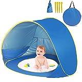 Tienda de campaña de Playa para bebé, automática, portátil, Ligera, protección UV, protección Solar, Refugio para Uso Familiar, Picnic, Interior y Exterior