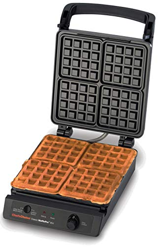 Chef'sChoice 854 Classic WafflePro Nonstick Waffle Maker Features...