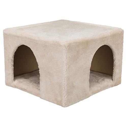 TRIXIE 63100 Kuschelhöhle für Kaninchen/Meerschweinchen, Plüsch