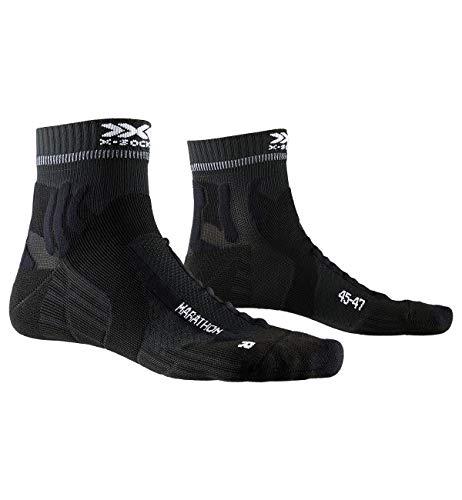 X-Socks Marathon Socks, Unisex – Adulto, Opal Black, 42-44