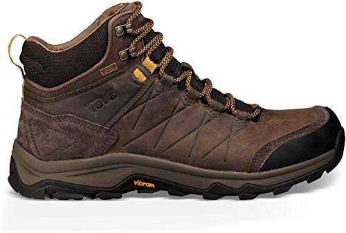 Teva Arrowood Riva Mid WP Botas de Senderismo, Hombre, Marrón Turkish Coffee Tkcf, 43 EU