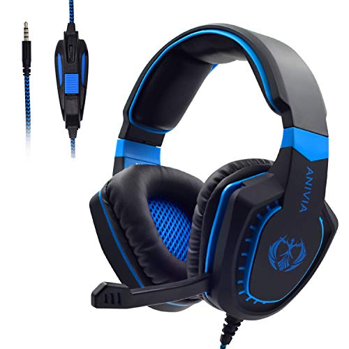 Stereo Gaming Headset for PS4,PC Wired Gaming Headphone with Mic for Computers, Playstation 4, Xbox One,Laptop, Smartphone, Tablet