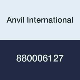 Anvil International 0880006127 Series 6400 Ductile Iron Rigidlok Coupling with Flush Gap Style